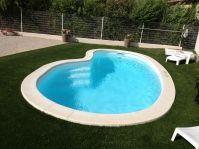 petite piscine haricot piscine coque forme haricot. Black Bedroom Furniture Sets. Home Design Ideas