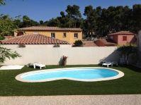 piscine coque haricot -  - piscine coque polyester