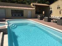 Aménagement piscine avec plage - Photo piscine à coque