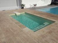Mini piscine coque -  - piscine coque polyester