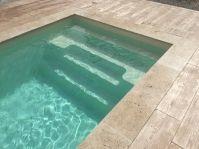 Petite piscine rectangle - Photo piscine à coque