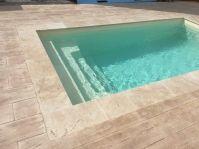 Piscine polyester sans déclaration préalable - Photo piscine à coque