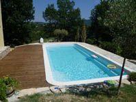 piscine familiale, piscine pour famille -  - piscine coque polyester