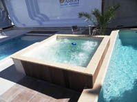 spa carré 2,50m balnéothérapique -  - piscine coque polyester
