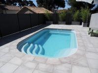 photo Petite piscine coque -  - piscine coque polyester