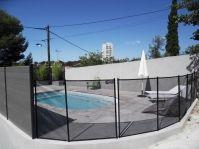 Barrière de sécurité piscine -  - piscine coque polyester