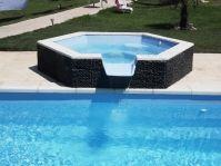 spa débordement piscine coque -  - piscine coque polyester