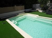coque piscine sable