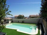piscine beige -  - piscine coque polyester