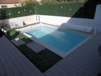 petite piscine en coque -  - piscine coque polyester