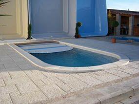 Piscine d'exposition foire de Marseille -  - piscine coque polyester
