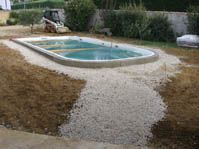 Photo piscine coque du mod le ubaye photos piscines coque for Ceinture beton piscine coque