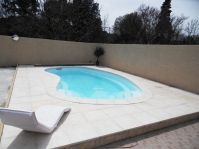 haricot piscine -  - piscine coque polyester