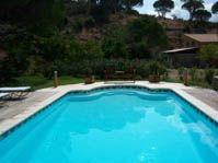 Escalier roman -  - piscine coque polyester