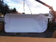 piscine coque 8 par 3,50 -  - piscine coque polyester