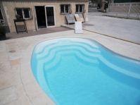 piscine coque haricot piscine en forme. Black Bedroom Furniture Sets. Home Design Ideas