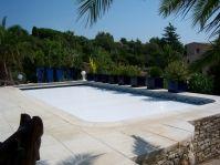 Volet immergé pour piscine - Photo piscine à coque