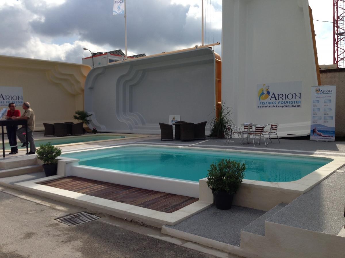 Piscine coque d bordement piscine d bordement lat ral - Piscine hors sol a debordement ...