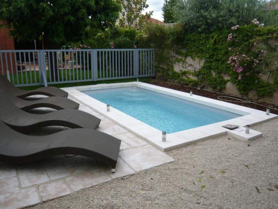 Piscine polyester, petit bassin